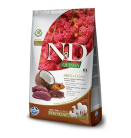 N&D Dog Food Skin & Coat Venison Quinoa 15.4#