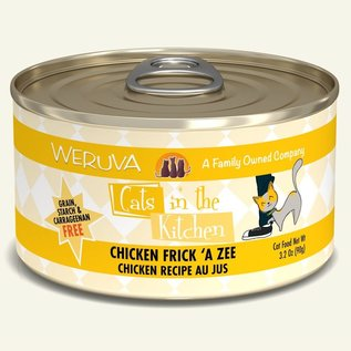 Weruva Cats in the Kitchen Chicken Frick 'A Zee 3.2oz Cans