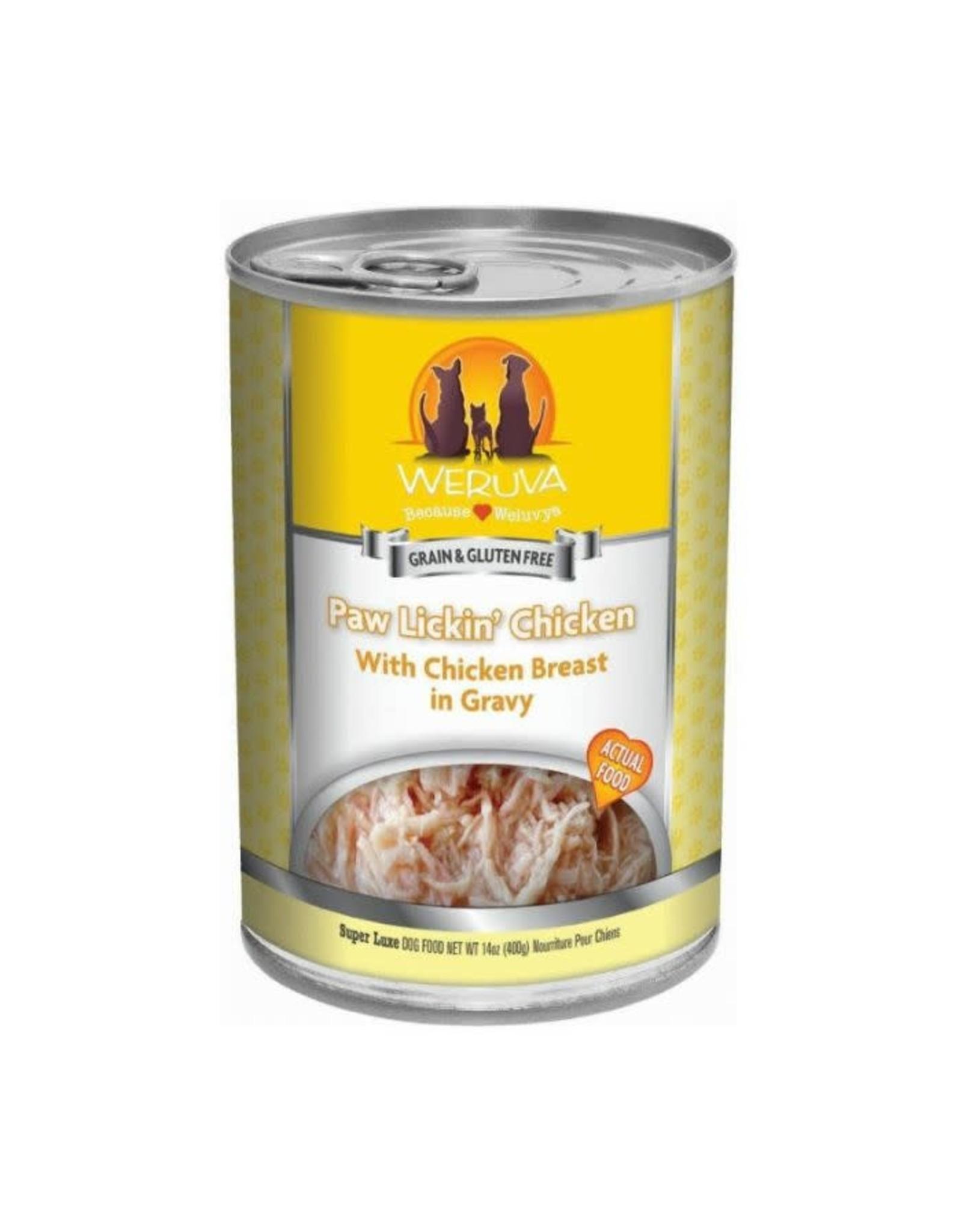Weruva Weruva Paw Lickin Dog Food 14oz