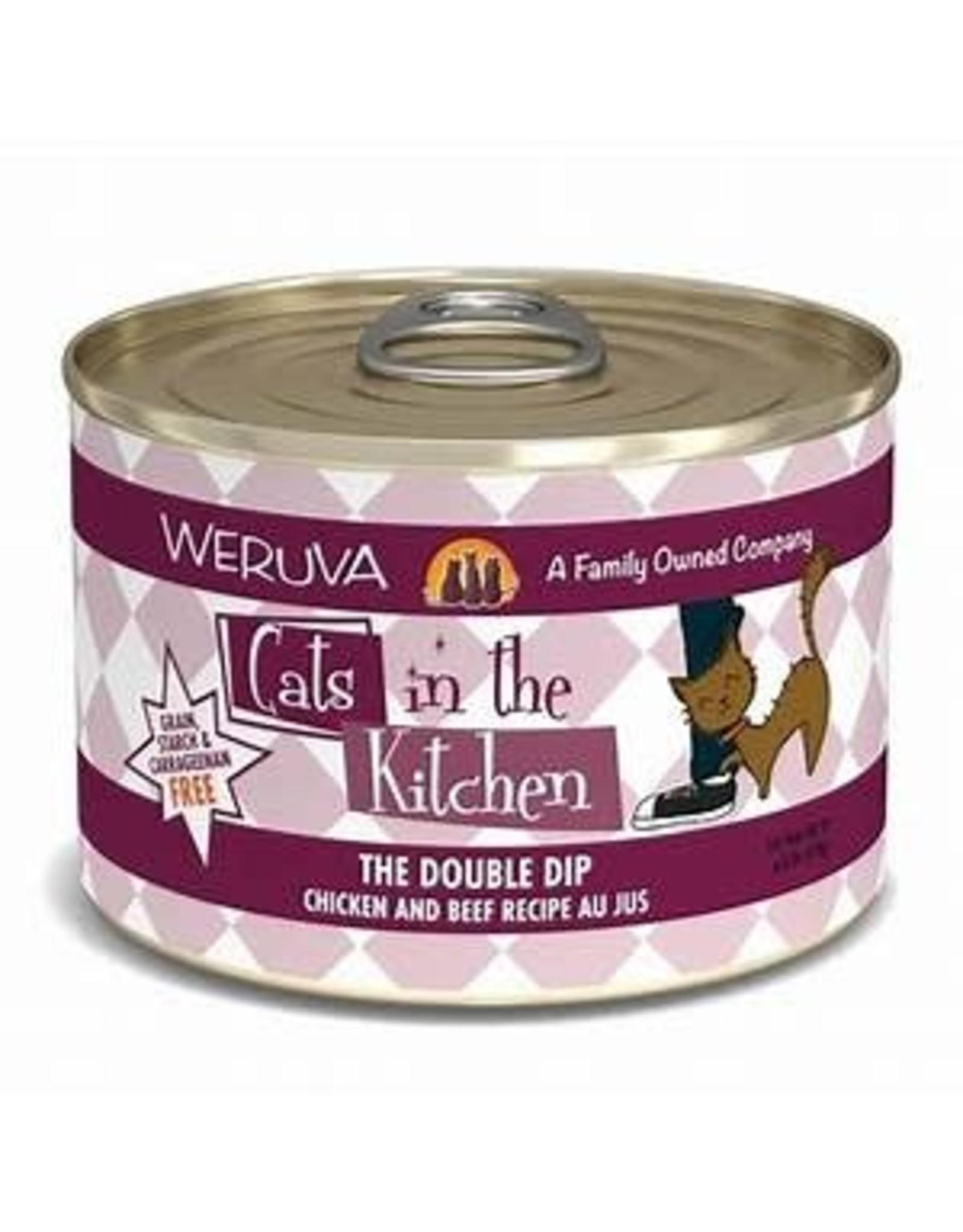 Weruva Cats in the kitcken The Double Dip 6oz