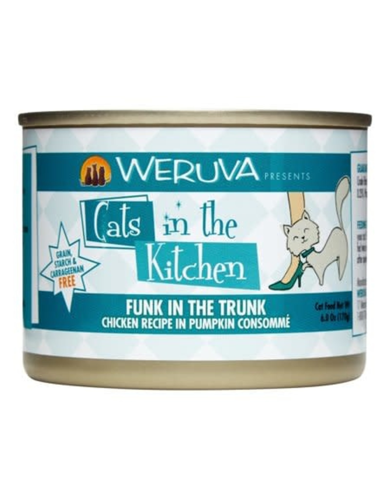 Weruva Cats in the kitchen Funk in Trunk 6oz