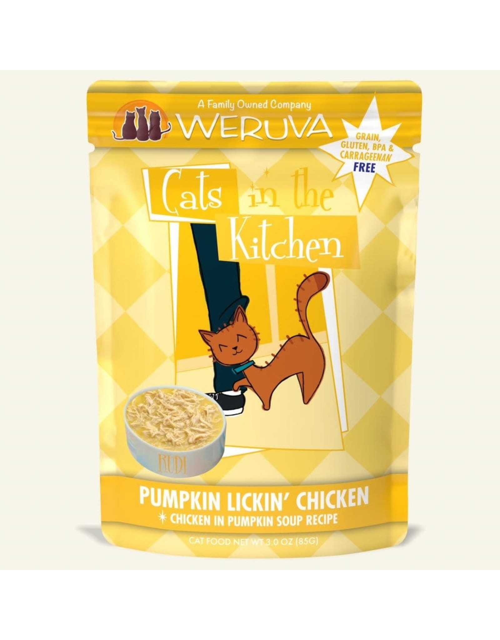 Weruva CITK Pouch - Pumpkin Lickin' Chicken 3oz
