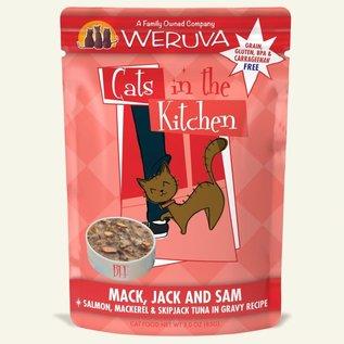 Weruva CITK Wet Pouch - Mack Jack Sam 3oz