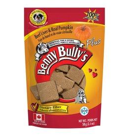 Benny Bully's Benny Bully's Dog Liver Plus Pumpkin 58g