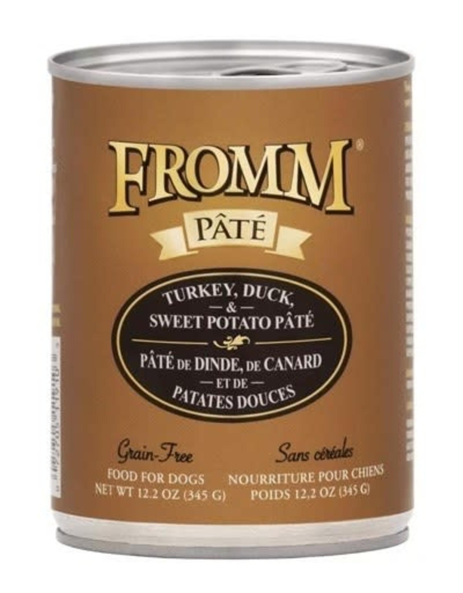 Fromm FROMM Dog Wet - Turkey/Duck 12.2oz