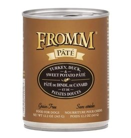 FROMM FROMM DOG CAN GF TRKY DUCK 12.2OZ