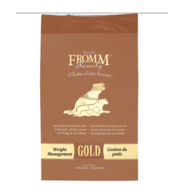 Fromm FROMM Dog - Gold WEIGHT MGMT 15lb