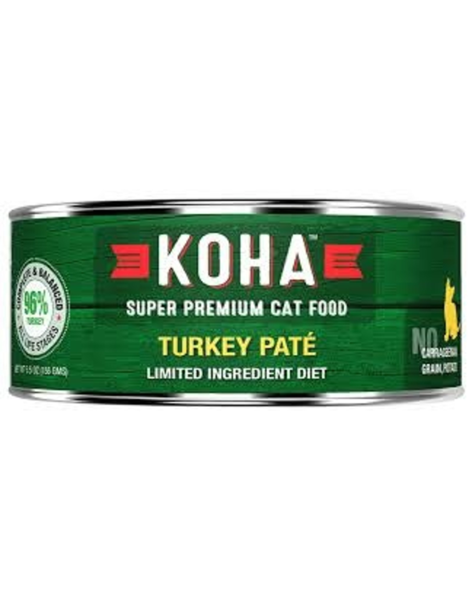 Koha Koha Cat LID Turkey Pate 3oz
