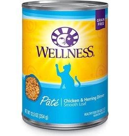 Wellness WELL CAT CHK & HERR 12.5 OZ.