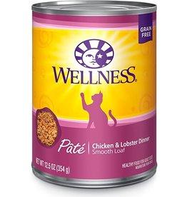 Wellness WELLNESS CAT CHK & LOB 12.5 OZ.