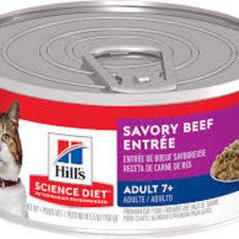 Science Diet Science Diet Cat - Savory Beef 5.5oz