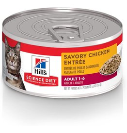 Science Diet SD Cat savory chicken 5.5oz