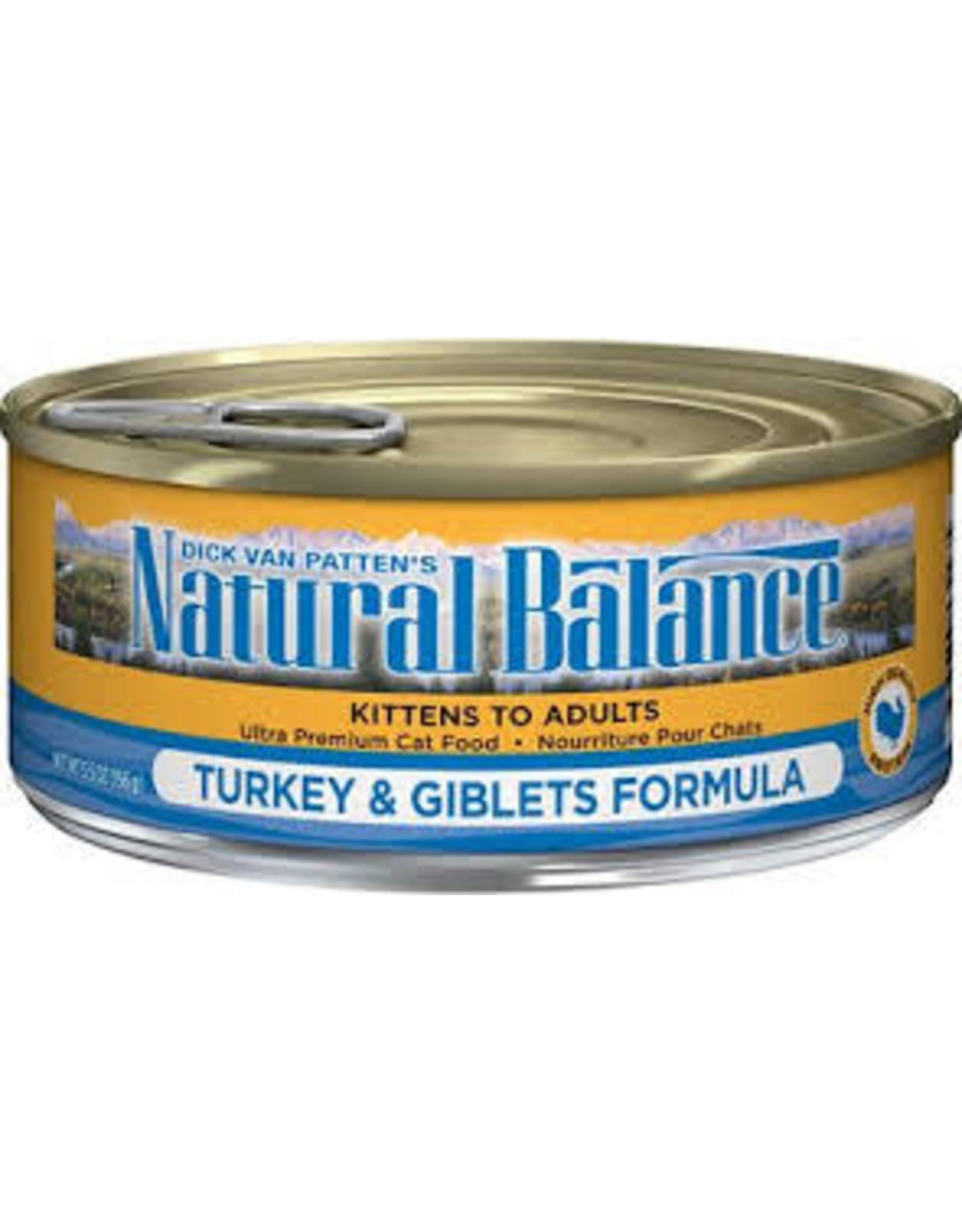Natural Balance Natural Balance Cat Turkey Giblet 5.5oz