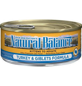 Natural Balance Natural Balance Cat Turkey Giblet 5.5oz