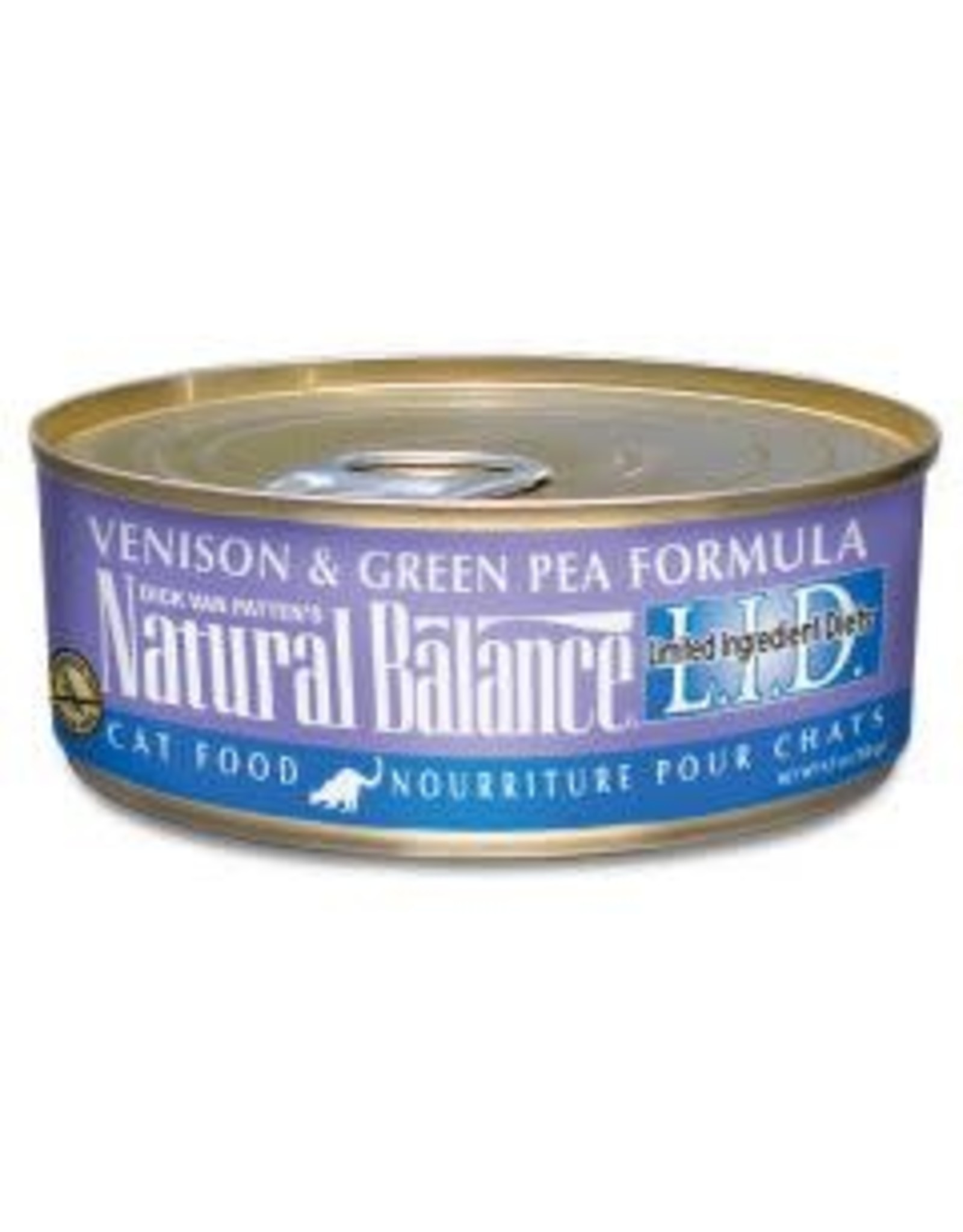 Natural Balance Natural Balance CAT VENISON/PEA 5.5OZ