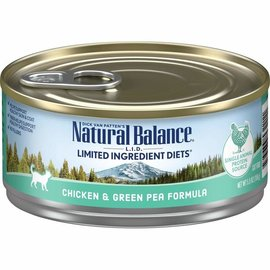 Natural Balance Natural Balance CAT CHIC&PEA 5.5OZ