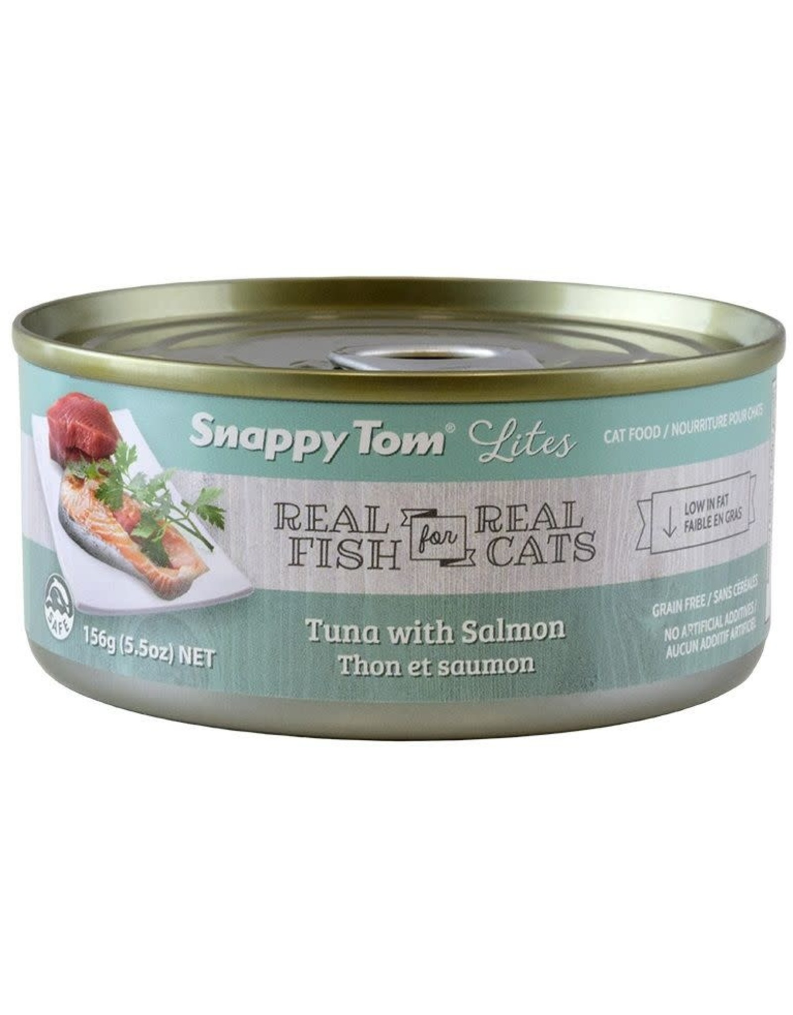 SNAPPY TOM SNAPPY TOM CAT CAN Tuna W/ Salmon 85G