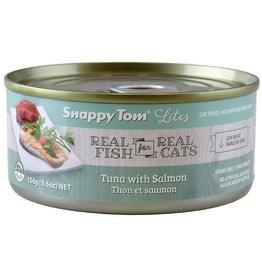 SNAPPY TOM CAT CAN Tuna W/ Salmon 85G