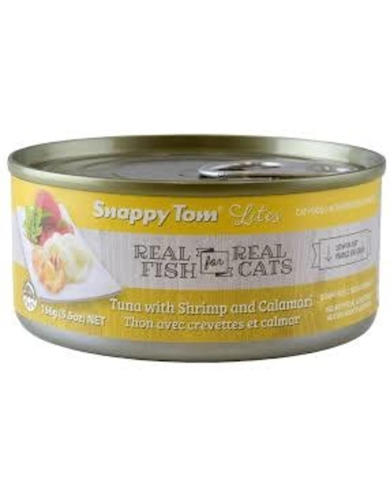 SNAPPY TOM SNAPPY TOM CAT CAN Tuna with Shrimp & Calamari 85G