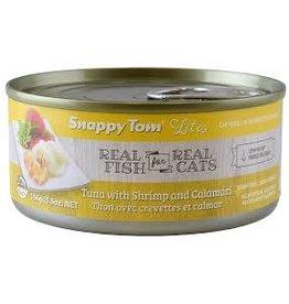 SNAPPY TOM CAT CAN Tuna with Shrimp & Calamari 85G
