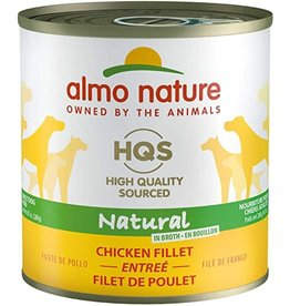 Almo Nature HQS Natural Chicken Fillet Dog Can 280g (12cs)