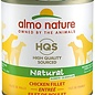 Almo Nature Almo Dog Nature HQS Natural Chicken Fillet Can 280g