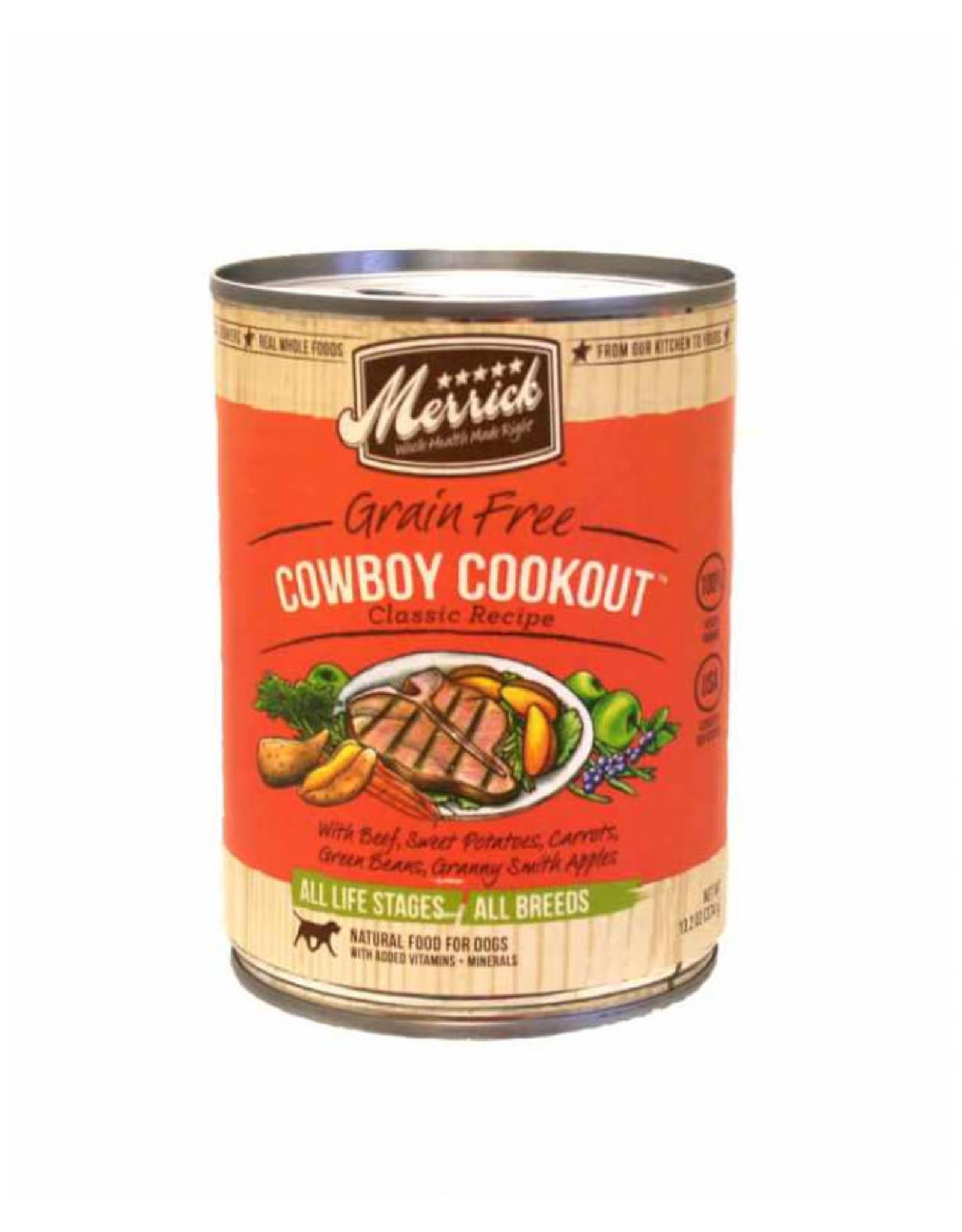 Merrick Merrick Dog Wet Cowboy Cookout 12.7oz