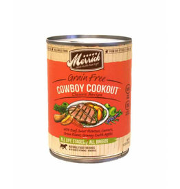 Merrick Dog cowboy cookout 12.7oz