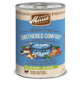 Merrick Merrick Dog Wet SMOTHERED CMFT 12.7oz