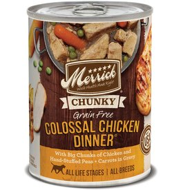 Merrick Merrick Dog Wet COLOSSAL CHICKEN 12.7oz