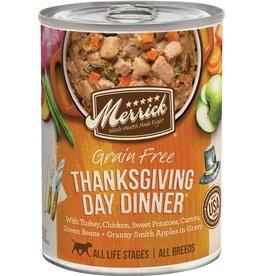 Merrick Merrick Dog Wet Thanksgiving Dinner 12.7oz