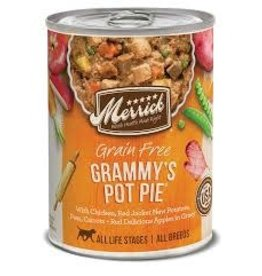 MERRICK DOG GRAMMY'S POT PIE 12.7OZ
