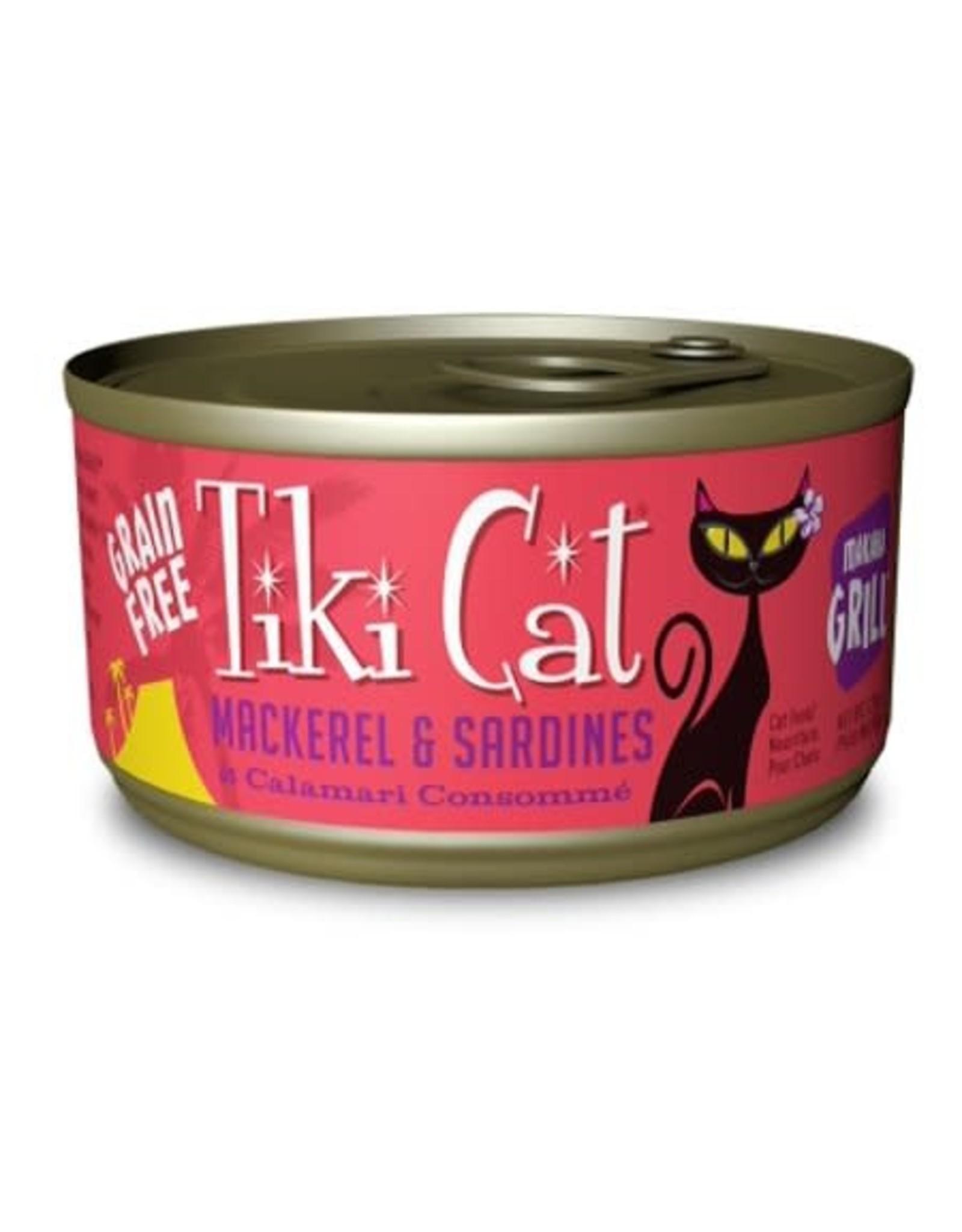 Tiki Cat Tiki Cat Grill Mackerel & Sar 2.8 oz
