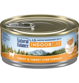 Natural Balance Natural Balance Cat LID Indoor Turkey Liver 5.5oz