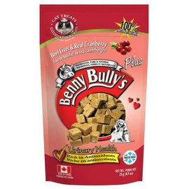 Benny Bully's Benny Bully's Cat Beef Liver Cranberry 25g