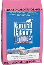 Natural Balance Natural Balance Cat - ULTRA Reduced Calorie 6lb