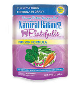 Natural Balance Natural Balance Cat Indoor Turkey Duck 3oz