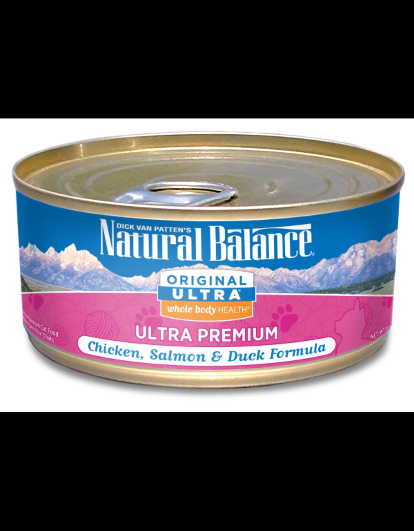 Natural Balance Natural Balance Cat Chx Salmon Duck 6 OZ