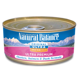 Natural Balance Natural Balance Cat Chx Salmon Duck 6 OZ