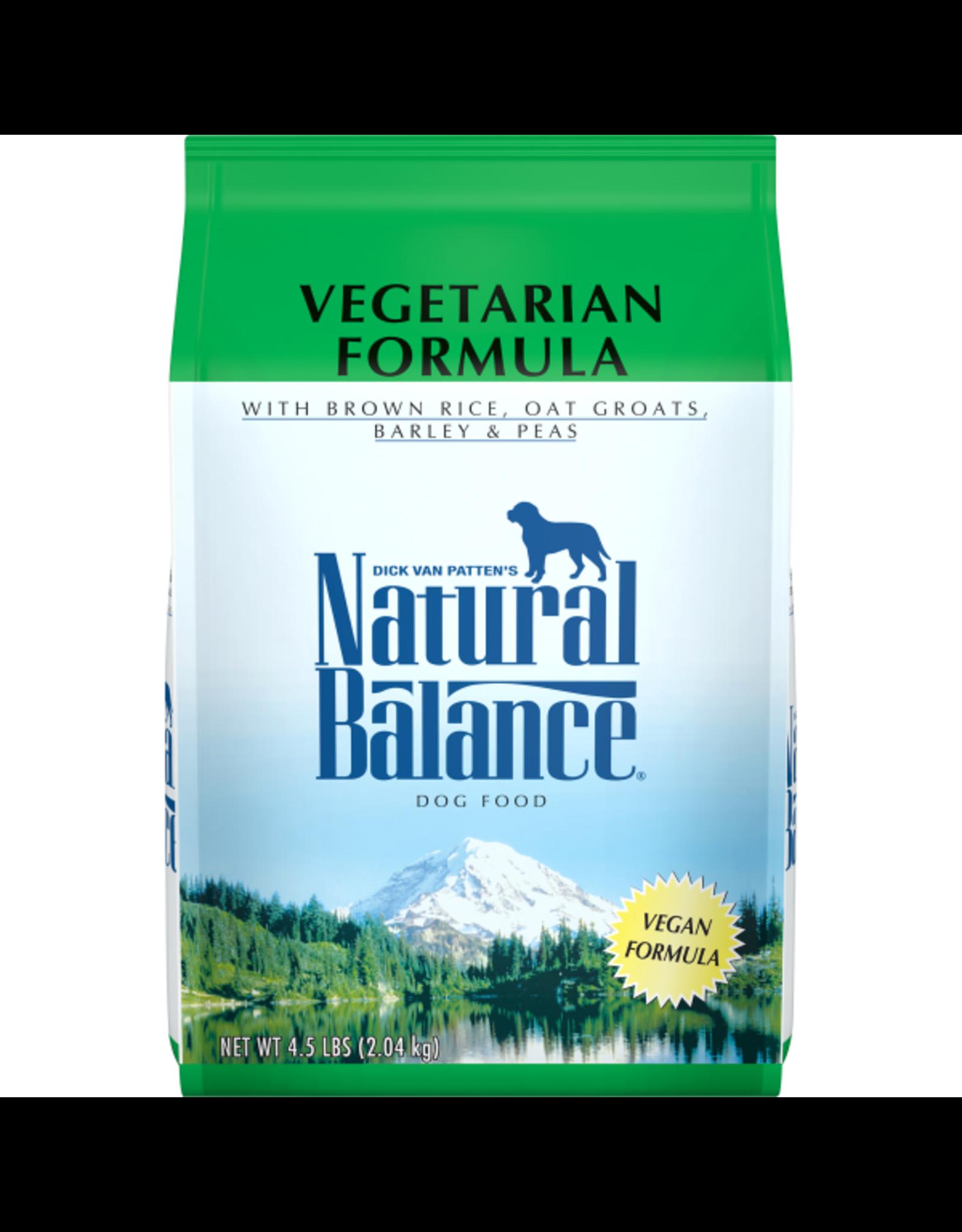 Natural Balance Natural Balance Dog - Vegetarian 4.5lb