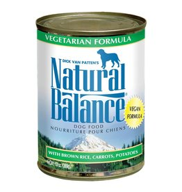 Natural Balance Natural Balance Dog Wet Vegetarian 13oz