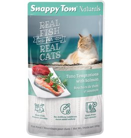 SNAPPY TOM CAT POUCH Tuna Temptations with Salmon 100G