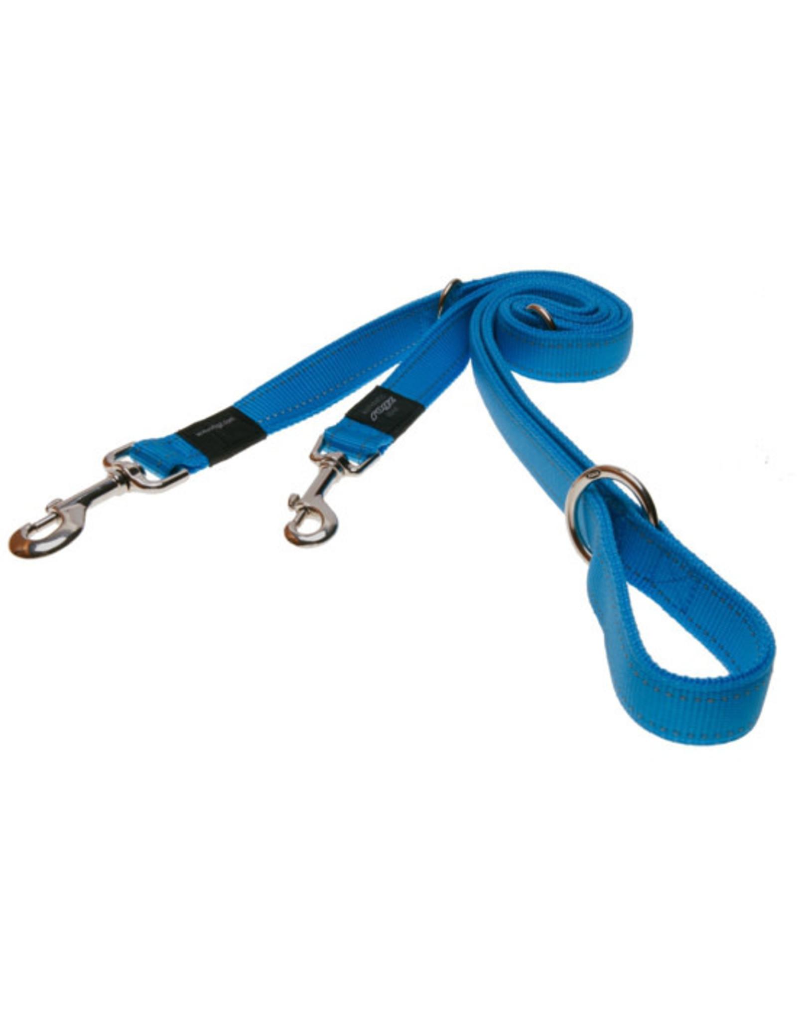 Rogz Medium Lead/Leash 6ft Turquoise