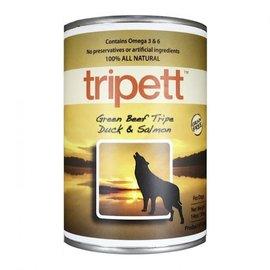 Tripett PETKIND Tripett Dog Wet - Green Beef Tripe/Duck/Salmon 13oz