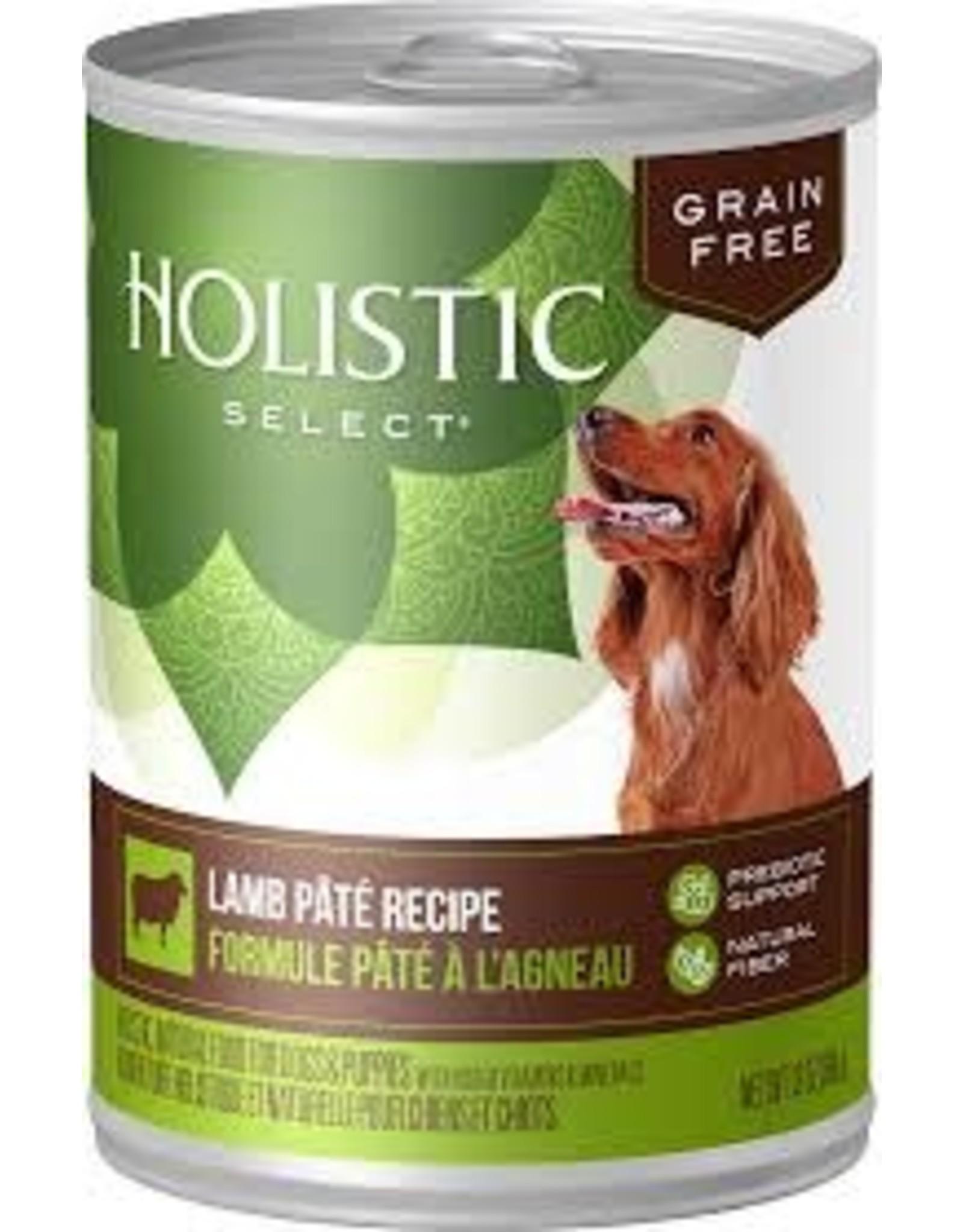 Holistic Select holistic lamb wet dog 13oz