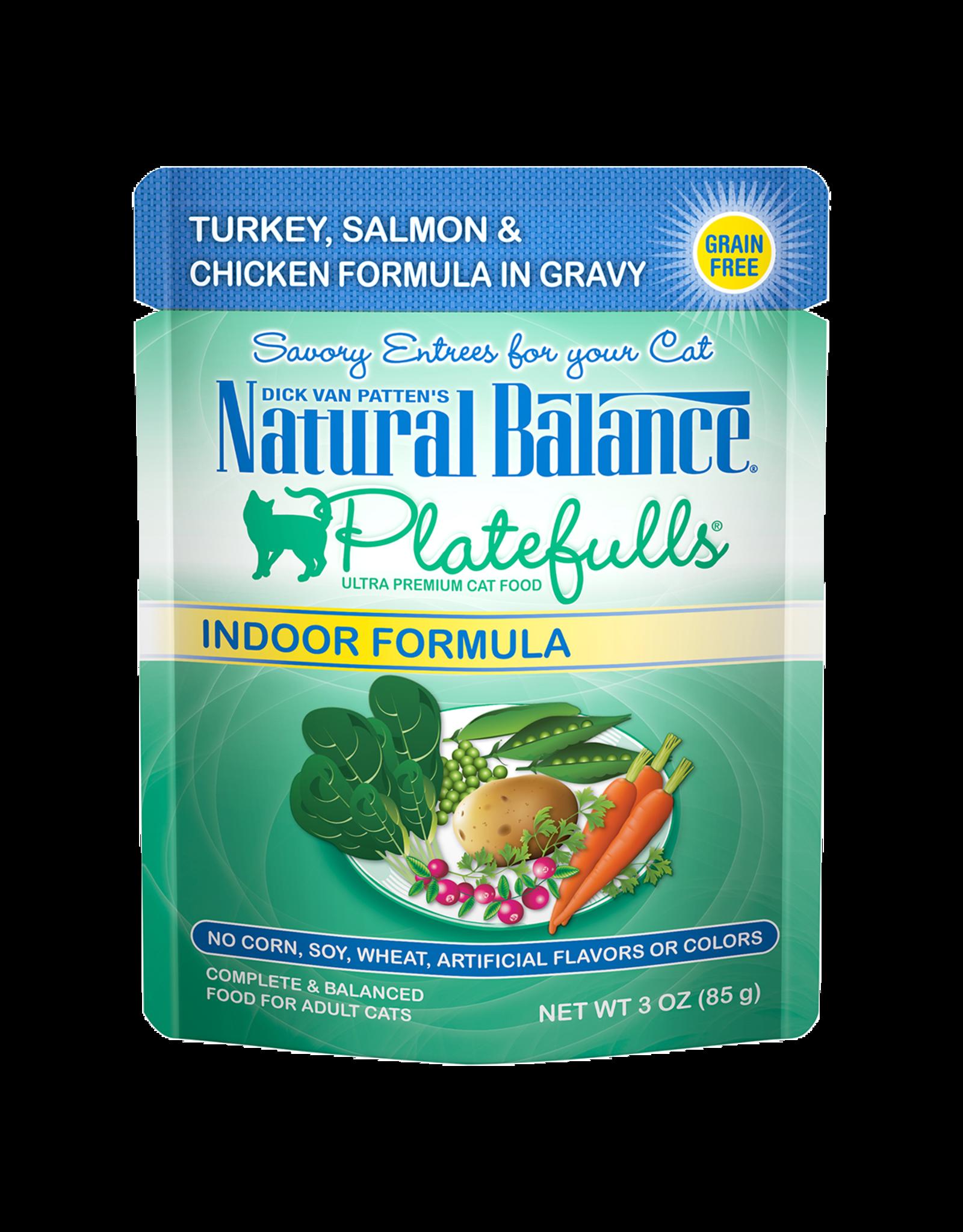 Natural Balance Natural Balance Turkey/Salmon/Chicken 3oz