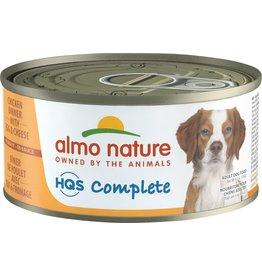 Almo Nature HQS Complete Chicken Dinner Pumpkin & Green Bean Dog Can 156g