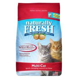 Naturally Fresh Naturally Fresh Multi-Cat Clumping Walnut Litter 14LB