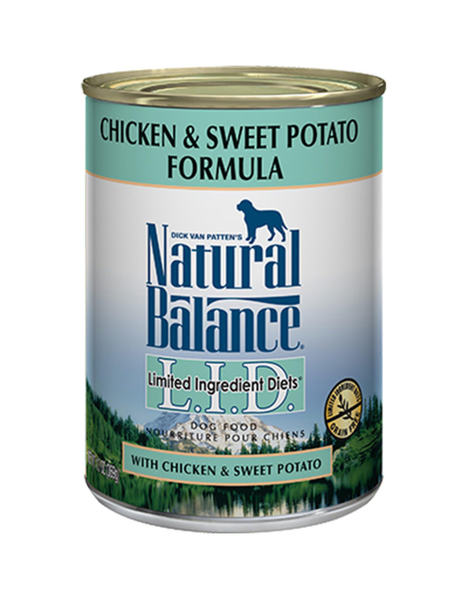 Natural Balance Natural Balance chicken sweet potato 13oz dog