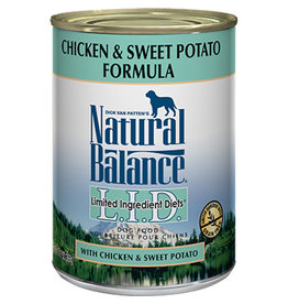 Natural Balance Natural Balance chicken sweet potato 13oz dog